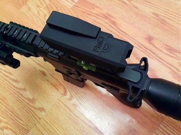 SRG Red Dot Sight Cover in Green Processed Versatile Plastic