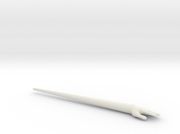 Hand Stick in White Natural Versatile Plastic