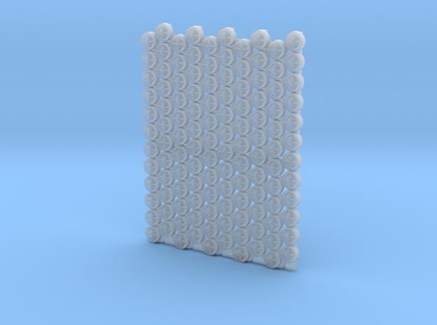 4804 - 1/48'+' type padeyes, closed bottom, 120pc