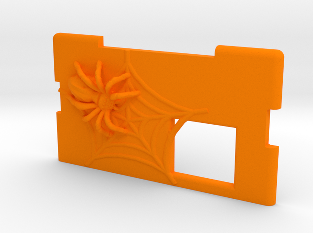 Kmods Squonker Spider door  in Orange Processed Versatile Plastic