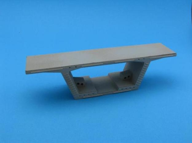 HO/1:87 Precast concrete bridge segment kit (small in White Strong & Flexible