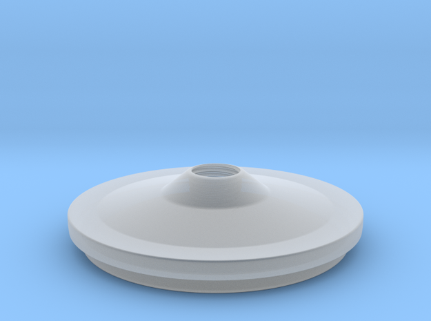 Lid in Smooth Fine Detail Plastic