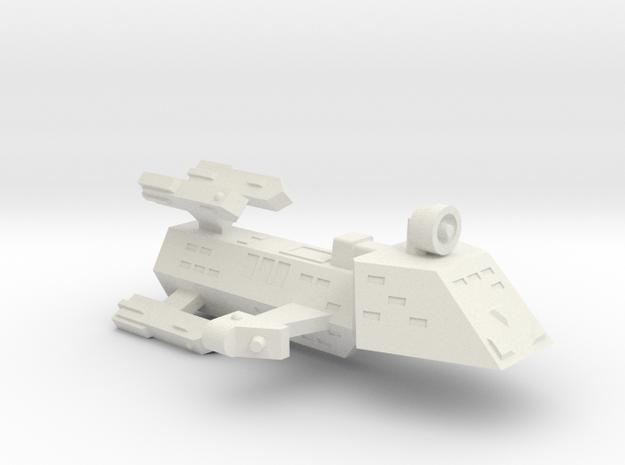 3788 Scale WYN (Kzinti) Frigate (ZFF) SRZ in White Natural Versatile Plastic