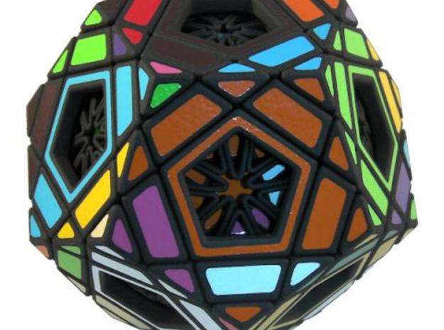 Multidodecahedron 3d printed Scrambled