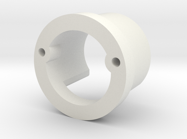 Chassis Adapter in White Natural Versatile Plastic
