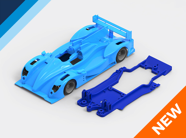1/32 Oreca 03 Chassis for Slot.it pod