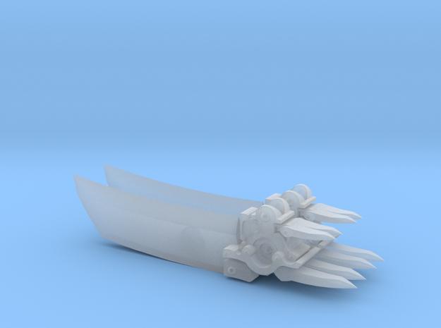 Darksiders Style Scythe - Primaris Dread Scale in Smooth Fine Detail Plastic