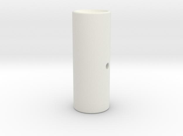 CCI Phantom Spring Feed Follower in White Natural Versatile Plastic
