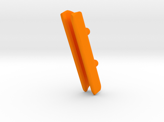 Precision 23 & DM330 MastGatet in Orange Strong & Flexible Polished