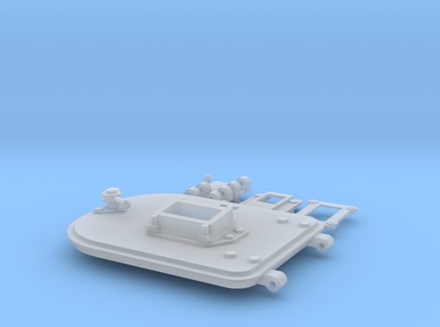 Panzer IV Ausf. D Turret Right Hatch in Smooth Fine Detail Plastic