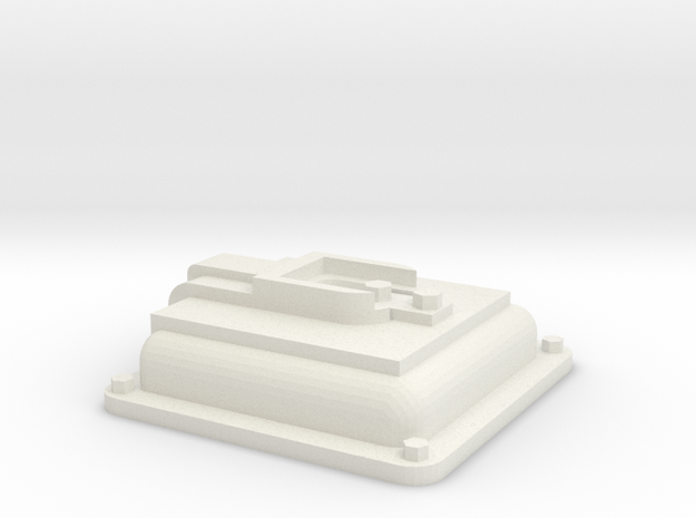 "1.5"" or 1.6"" EMD Diesel Locomotive Sand Door in White Natural Versatile Plastic"