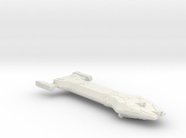 3788 Scale Hydran Chausseur New Scout Cruiser CVN in White Natural Versatile Plastic