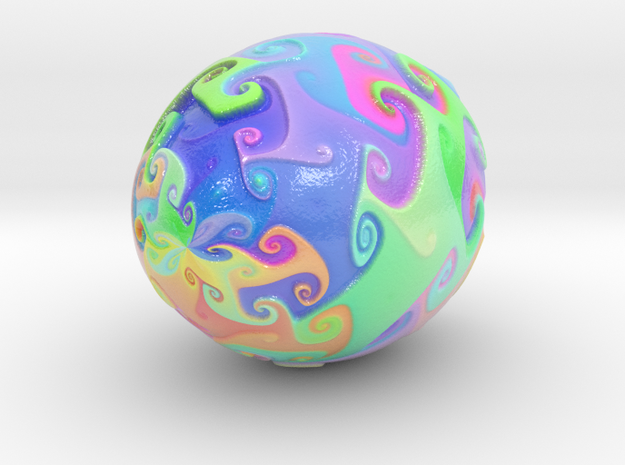 Color Dance 5-10-15-22 cm in Coated Full Color Sandstone: Extra Small