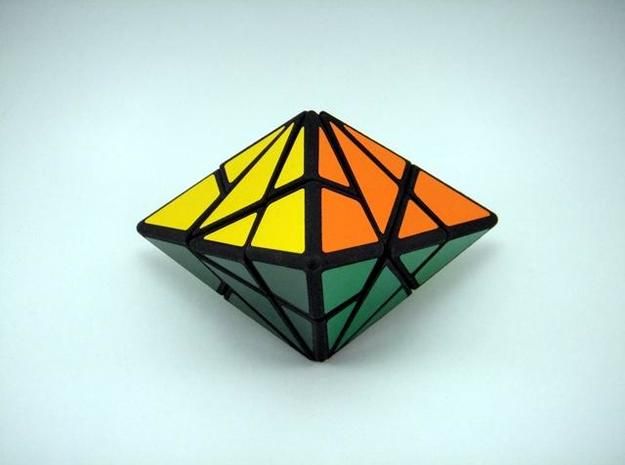 Fracture-6 Puzzle 3d printed Vertex View