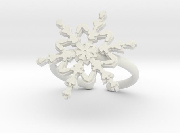 Snowflake ring 2 h21d165a adjustable 39 in White Premium Versatile Plastic