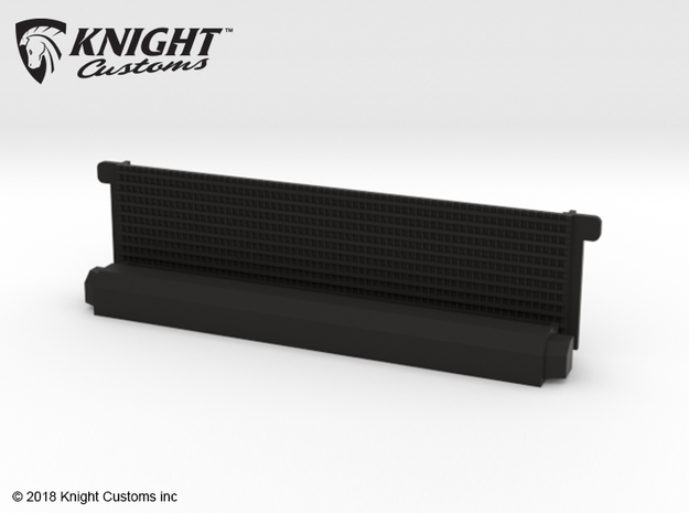 AH10009 Honcho radiator in Black Natural Versatile Plastic