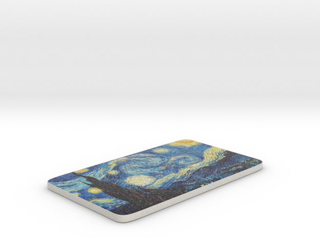 "Van Gogh ""Starry Night"" in Full Color Sandstone"