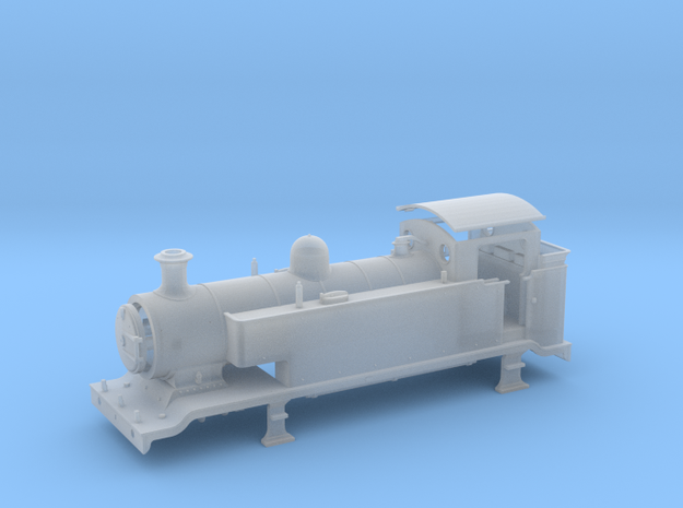 H0 3.5mm - LB&SCR E2 - Extended Tanks in Smooth Fine Detail Plastic