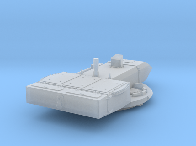 Falcon Turret for Jordanian Challenger I in Smoothest Fine Detail Plastic