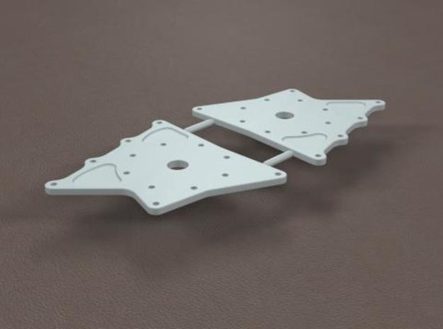 1/12 11 Inch Rearend Hard Chassis Mount 3d printed