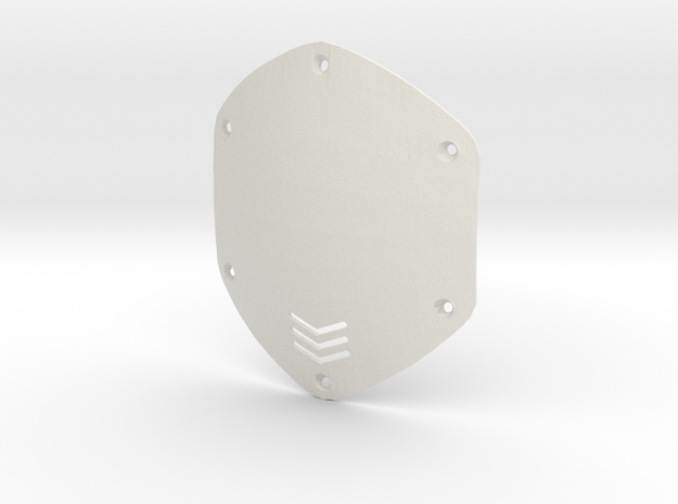 V-moda M80 Shield Replacement in White Natural Versatile Plastic