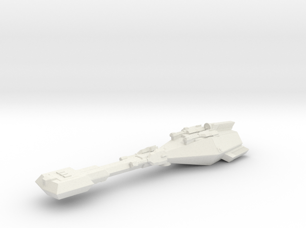 3125 Scale Trobrin Refitted Gunboat Tender (PFT+) in White Natural Versatile Plastic