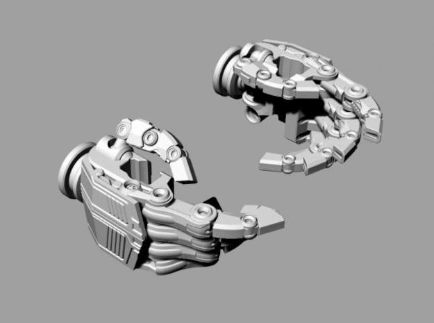 ROTF Leader Optimus Prime hands (movie acc.)