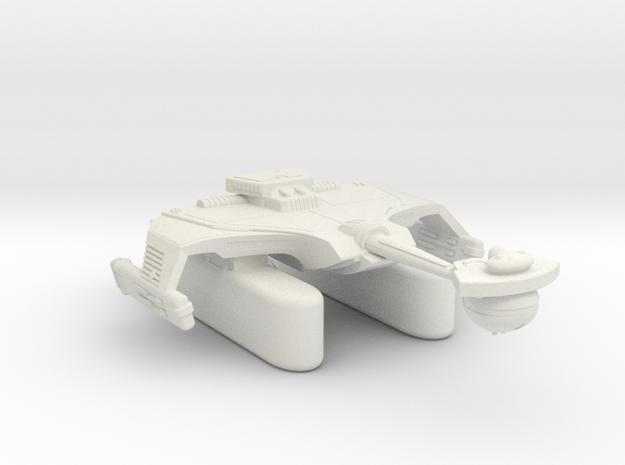 3788 Scale Klingon T7K Refitted Fleet Tug WEM in White Strong & Flexible