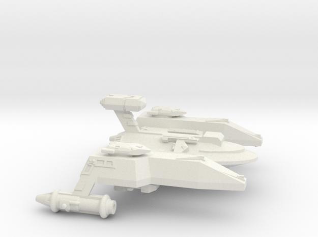 3788 Scale WYN Pocket Battleship (PBB) CVN in White Natural Versatile Plastic