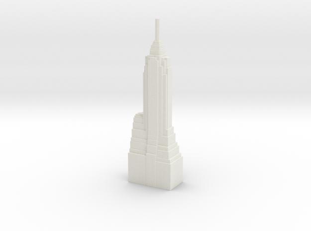 70 Pine Street - New York (1:4000) in White Natural Versatile Plastic