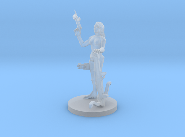 Female Badass Crossbow Ranger in Smooth Fine Detail Plastic