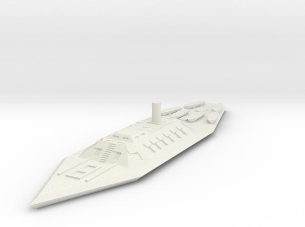 CSS Mississippi 1/600 in White Natural Versatile Plastic