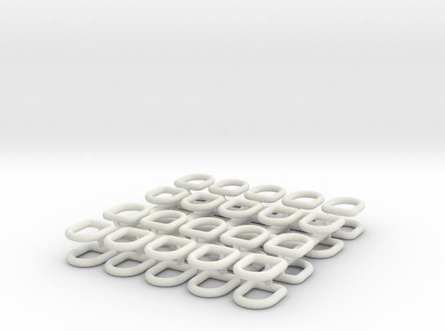 1-16_tiedown_dring in White Natural Versatile Plastic