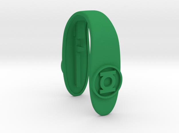 GREEN LANTERN SLIMKEY FOB  in Green Processed Versatile Plastic