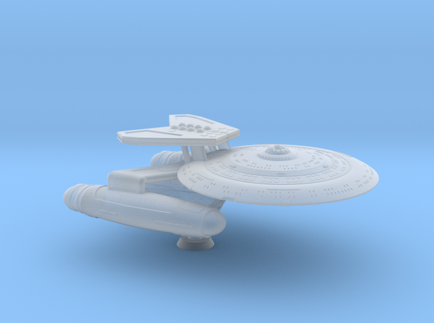 Terran Delphi Class Tactical Cruiser - 1:7000 in Smooth Fine Detail Plastic
