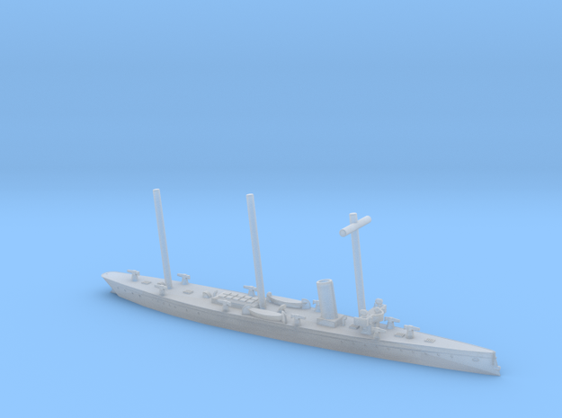 SMS Meteor 1/1200 (with mast) in Smooth Fine Detail Plastic