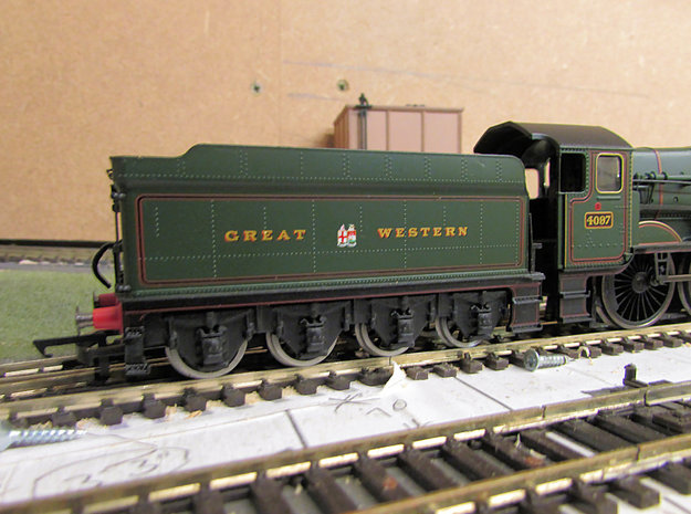 GWR Collett 8 Wheeled Tender Chassis