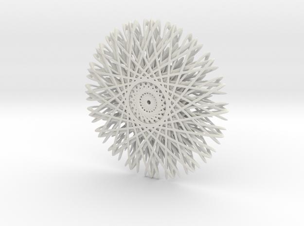 Perpetuum Mobile in White Natural Versatile Plastic