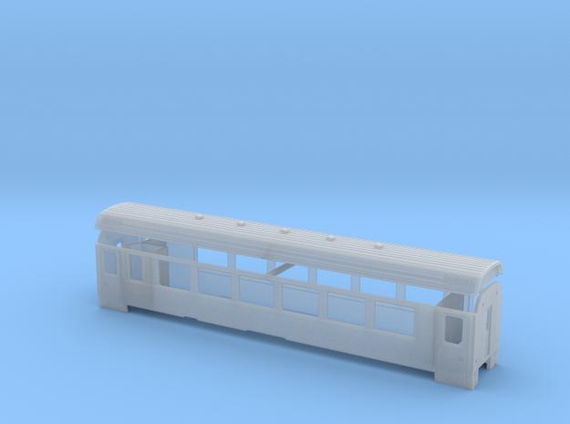 RhB B 2491-2497 in Smooth Fine Detail Plastic: 1:150