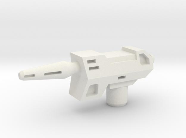 B Bee Laser Pistol in White Natural Versatile Plastic