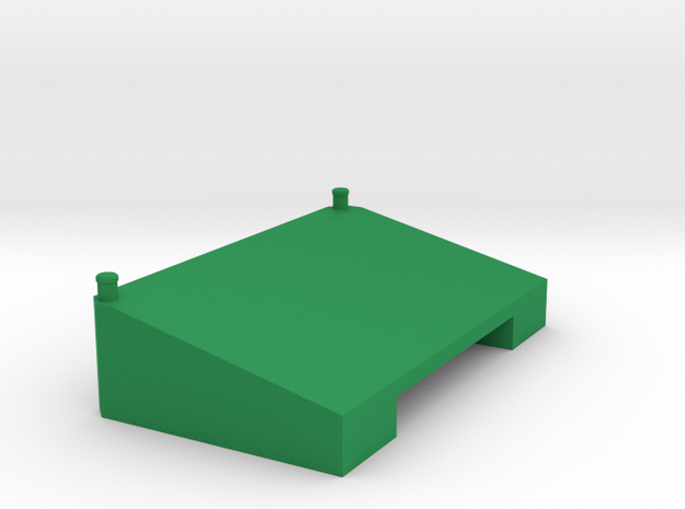 Xerion Tank in Green Processed Versatile Plastic