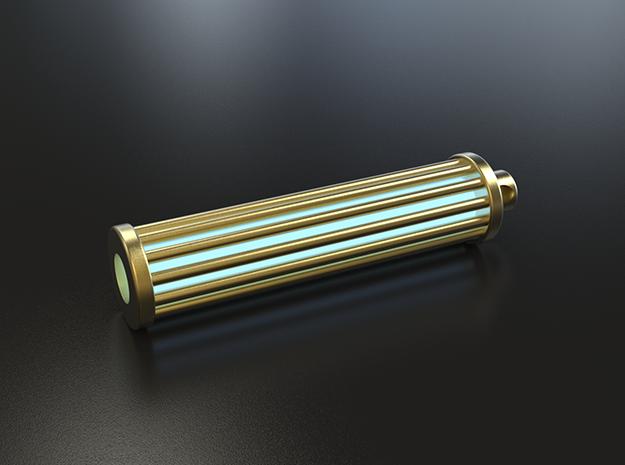 Caged Tritium Lantern 3d printed