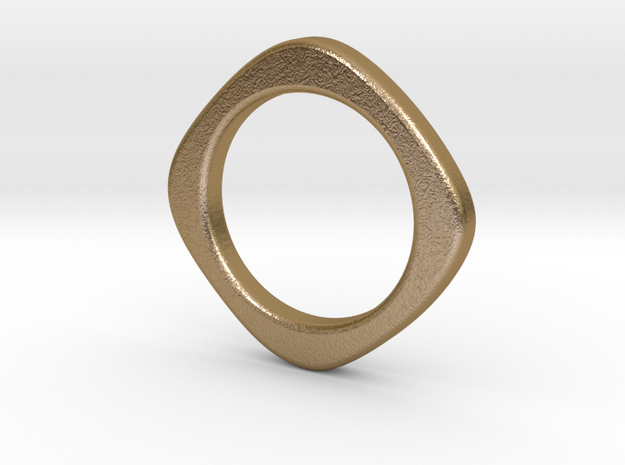 Sol in Polished Gold Steel