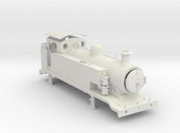 9.5mm - LB&SCR E2 - EXTENDED TANKS in White Natural Versatile Plastic