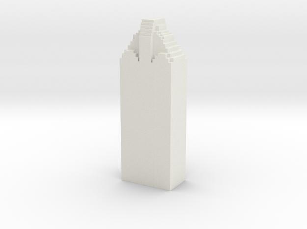 Heritage Plaza - Houston (1:4000) in White Natural Versatile Plastic