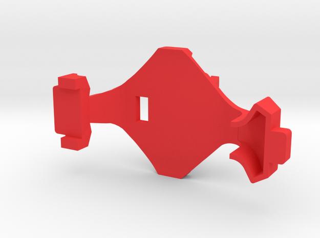 IMPRIMO - Full Version (Printable Canopy Type B) in Red Processed Versatile Plastic