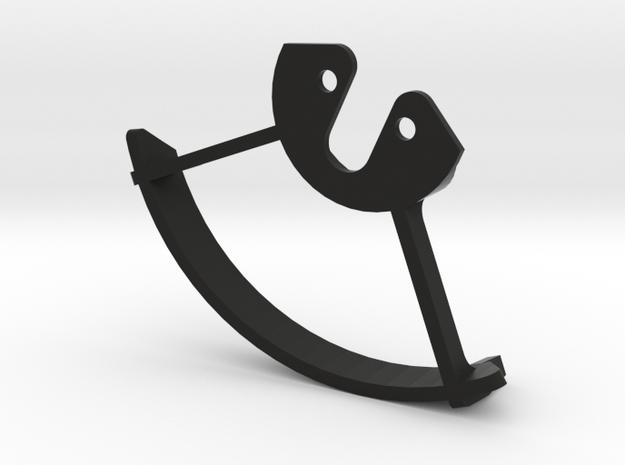 IMPRIMO - CF Version (Printable Propeller Guard) in Black Natural Versatile Plastic