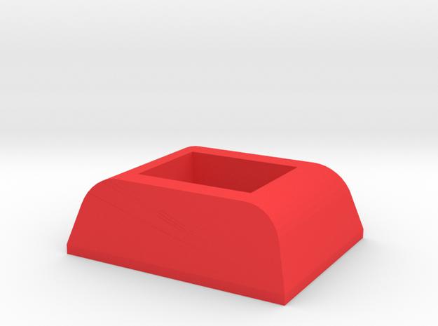 IMPRIMO - CF Version (Printable Front Lock) in Red Processed Versatile Plastic