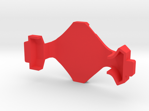 IMPRIMO - CF Version (Printable Canopy Type C) in Red Processed Versatile Plastic