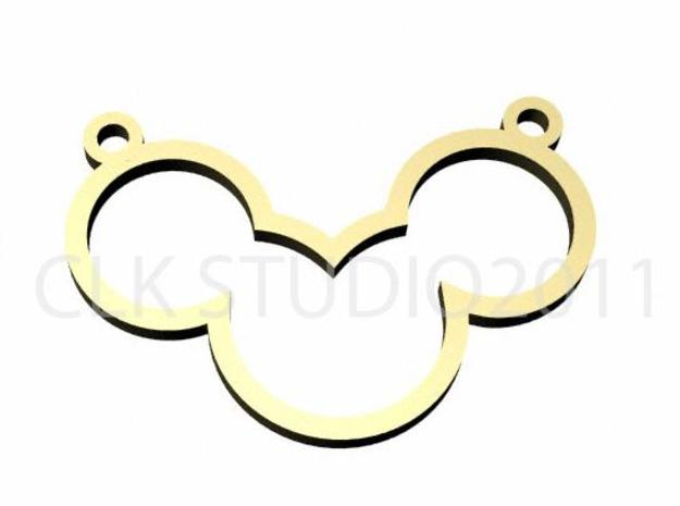 mickey open 3d printed